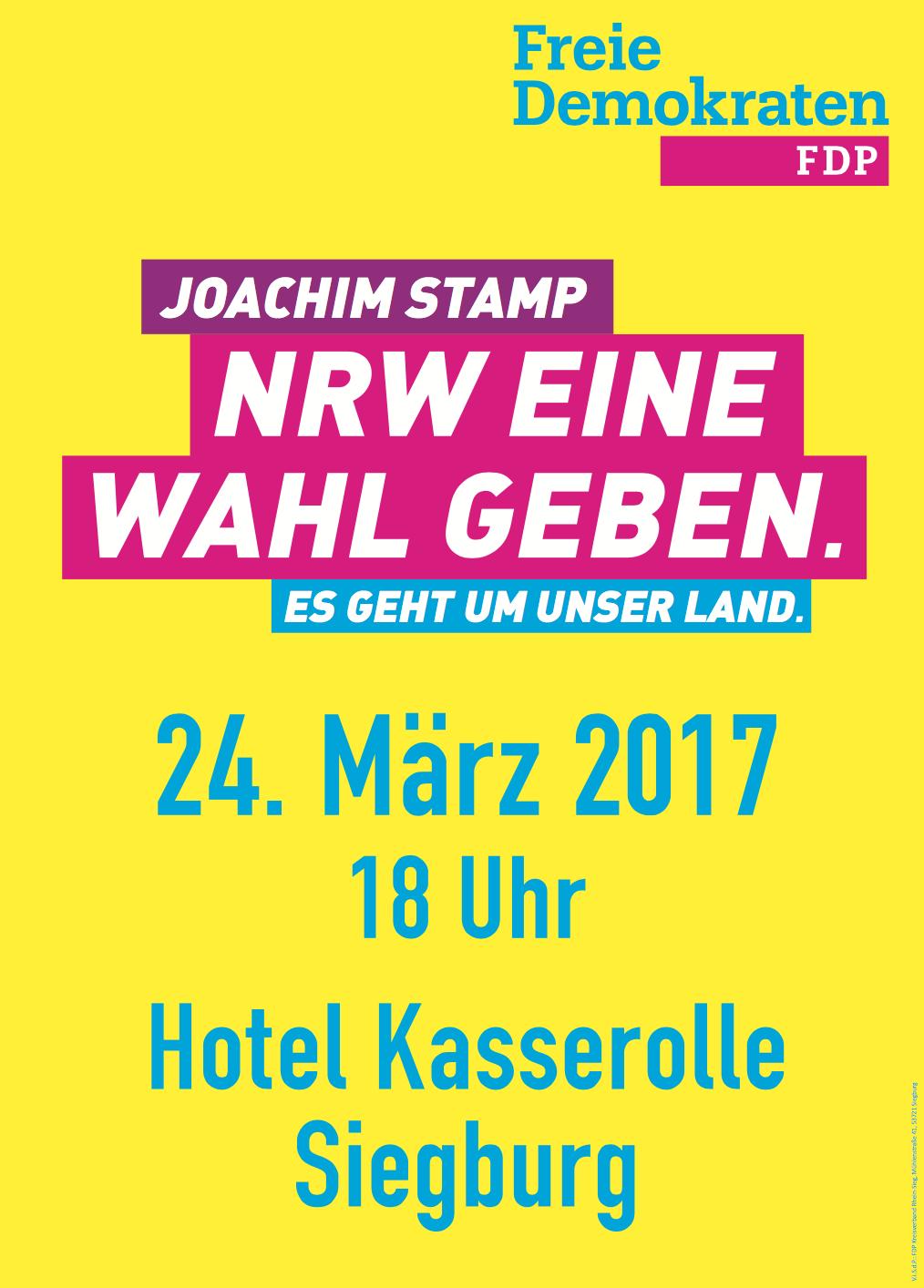 Plakat Kreisparteitag